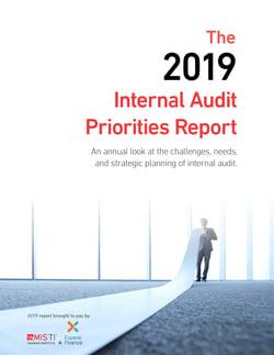2019 Internal Audit Priorities Report_Cover